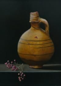 Monique Suidman - olieverf op paneel